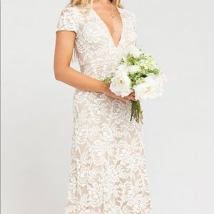 ELEANOR MAXI DRESS LOVERS LACE SHOW ME THE RING